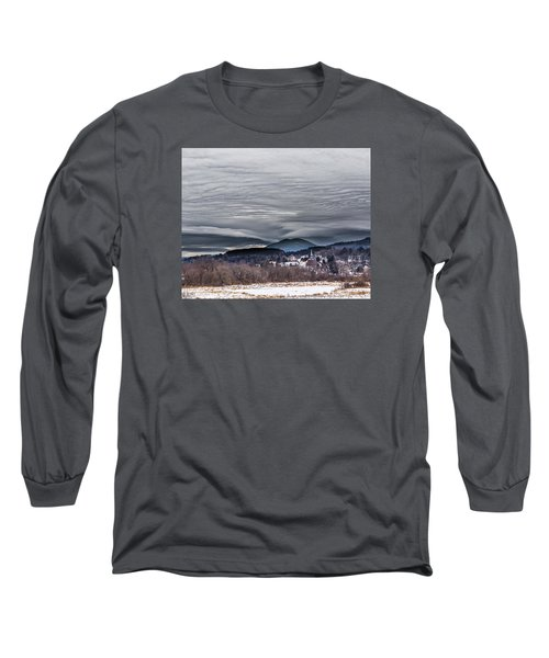 Sky Waves Long Sleeve T-Shirt by Tim Kirchoff