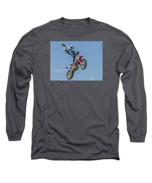Long Sleeve T-Shirt featuring the photograph Skyrider by Brian Tarr