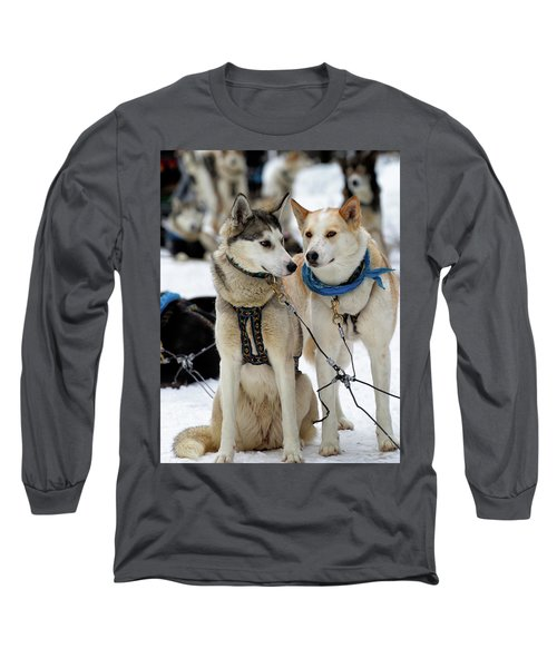 Sled Dogs Long Sleeve T-Shirt