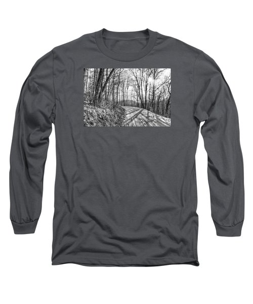 Long Sleeve T-Shirt featuring the photograph Sleep Hallow Road by Dan Traun