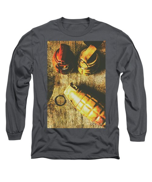 Sleeper Cell Marines Activated Long Sleeve T-Shirt