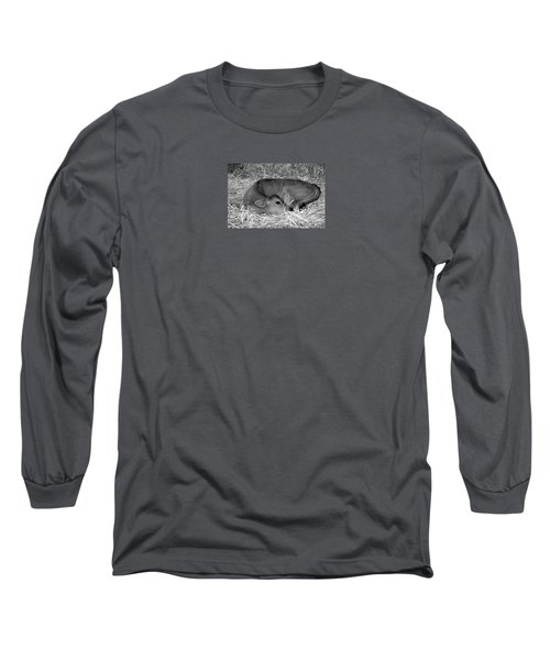 Sleeping Calf Long Sleeve T-Shirt