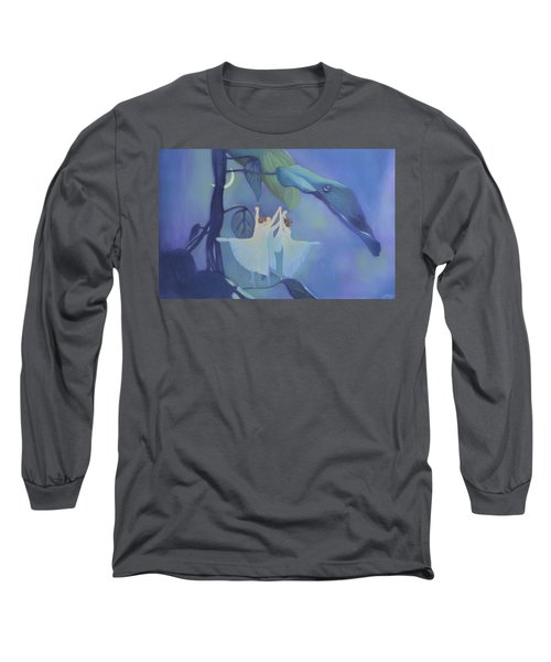 Sleeping Fairies Long Sleeve T-Shirt by Blue Sky
