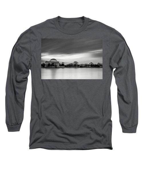 Sleeping Giant Long Sleeve T-Shirt by Edward Kreis