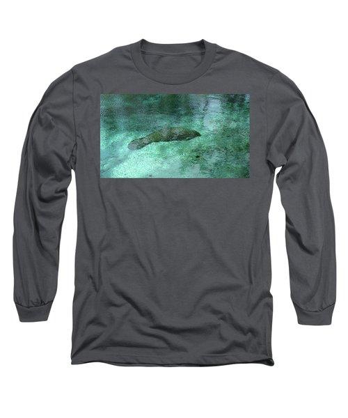Sleeping In The Blue Long Sleeve T-Shirt