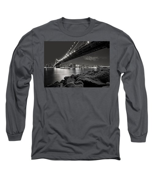 Sleepless Nights And City Lights Long Sleeve T-Shirt