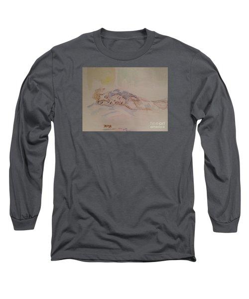 Sleepy Heads Long Sleeve T-Shirt by Denise Tomasura