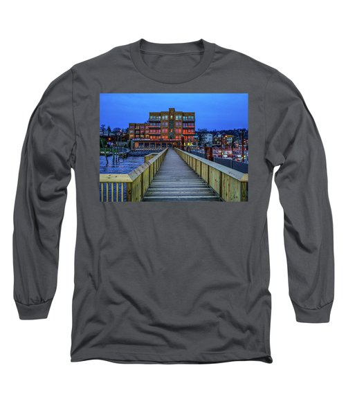 Sleepy Hollow Pier Long Sleeve T-Shirt by Jeffrey Friedkin