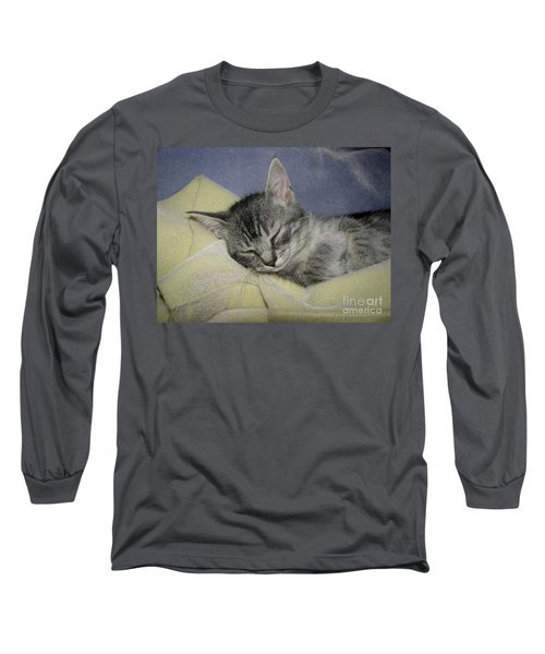 Sleepy Time Long Sleeve T-Shirt by Donna Brown