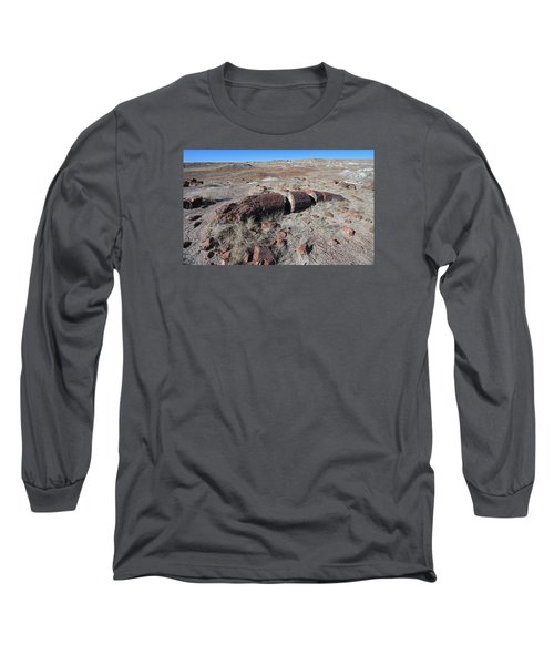 Sliced Not Diced Long Sleeve T-Shirt by Gary Kaylor