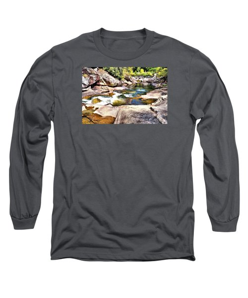 Sliding Rock Falls Long Sleeve T-Shirt
