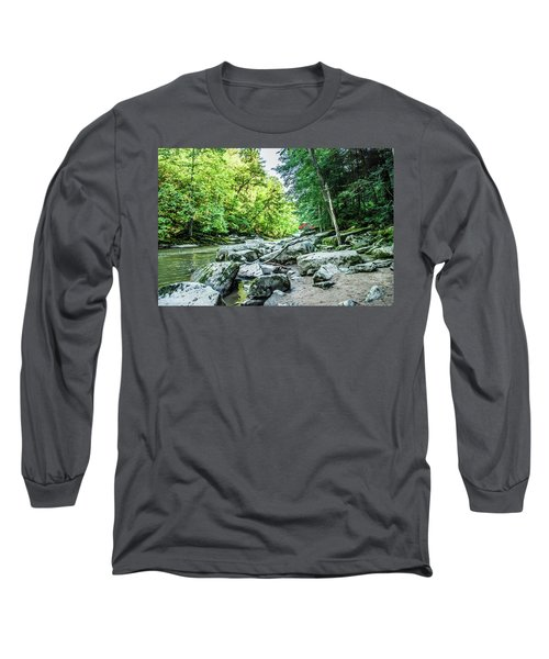 Slippery Rock Gorge - 1905 Long Sleeve T-Shirt
