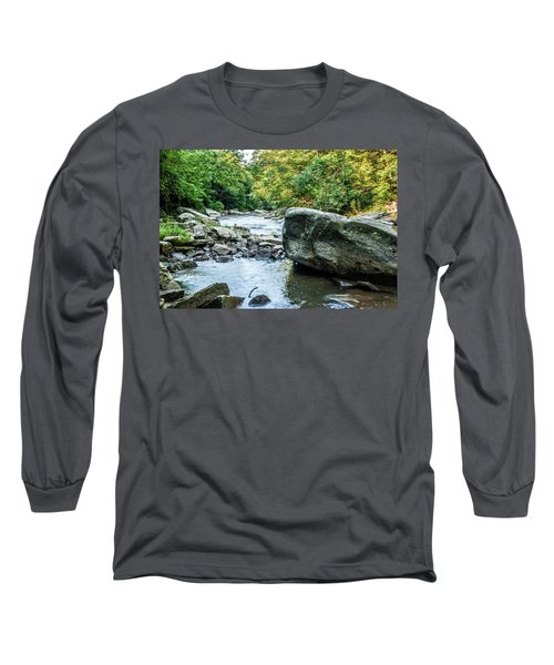 Slippery Rock Gorge - 1918 Long Sleeve T-Shirt