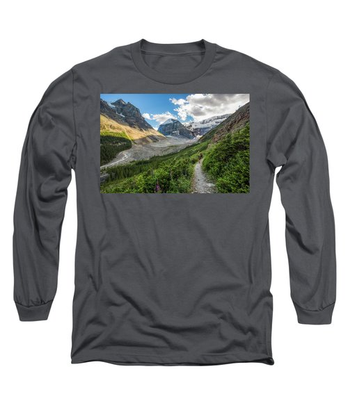 Sliver Of Light - Banff Long Sleeve T-Shirt