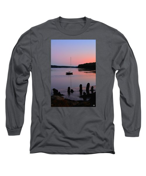 Sloop Sunset Long Sleeve T-Shirt