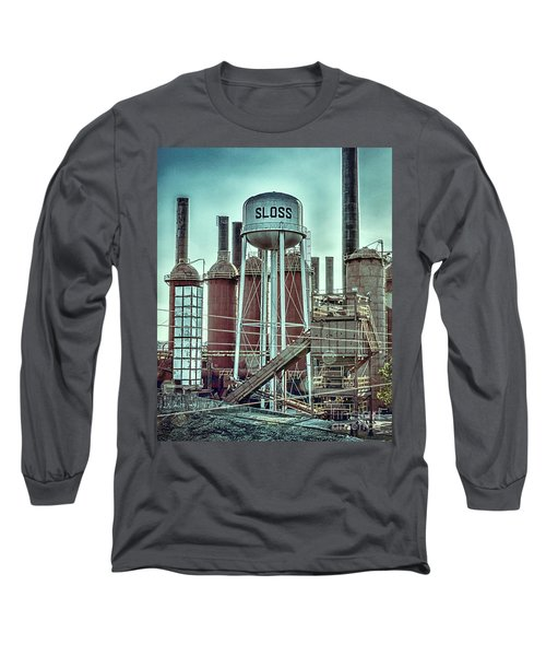 Sloss Furnaces Tower 3 Long Sleeve T-Shirt