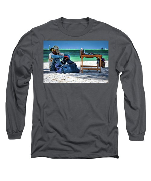 Slow Sales Day Long Sleeve T-Shirt
