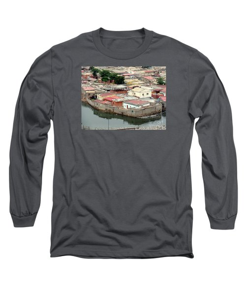 Slum In Luanda, Angola Long Sleeve T-Shirt