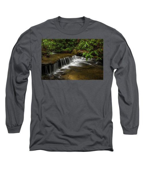 Small Cascade On Pounder Branch. Long Sleeve T-Shirt