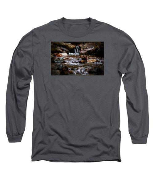 Small Falls Long Sleeve T-Shirt by Elaine Malott