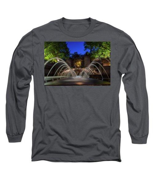 Small Fountain Long Sleeve T-Shirt