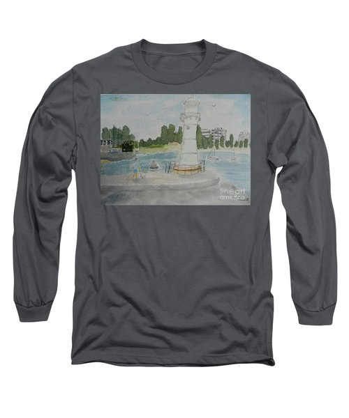 Small Lighthouse One Belmore Basin Long Sleeve T-Shirt