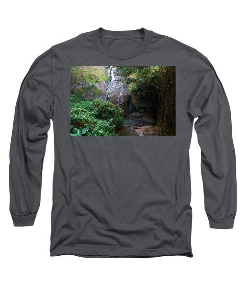 Small Waterfall Long Sleeve T-Shirt