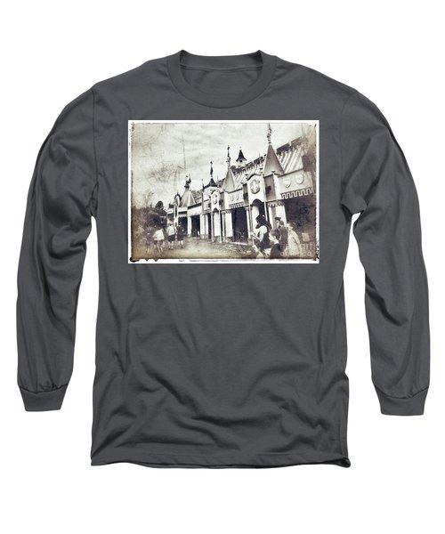Small World Long Sleeve T-Shirt by Jason Nicholas
