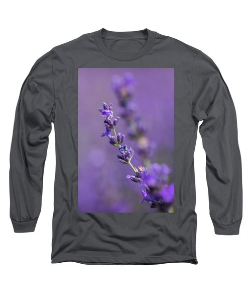 Smell The Lavender Long Sleeve T-Shirt