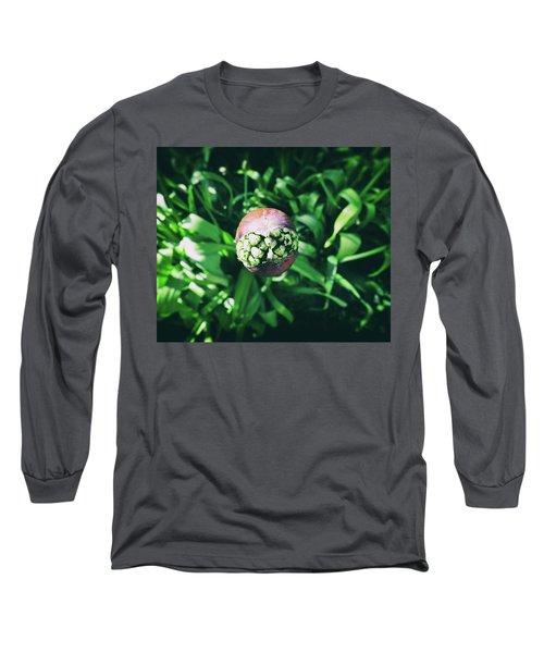 Smile Long Sleeve T-Shirt by Karen Stahlros