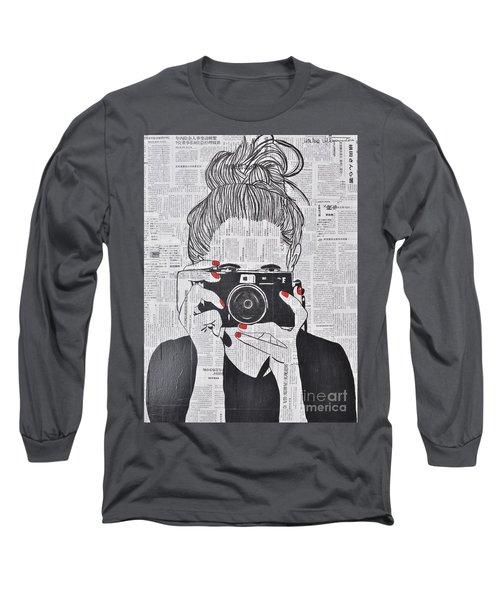 Smile Twice Long Sleeve T-Shirt