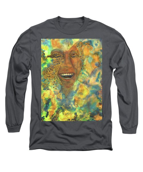 Smiling Muse No. 3 Long Sleeve T-Shirt
