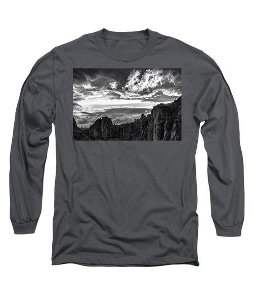 Smith Rock Skies Long Sleeve T-Shirt