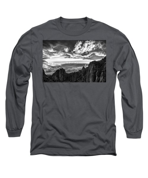 Smith Rock Skies Long Sleeve T-Shirt