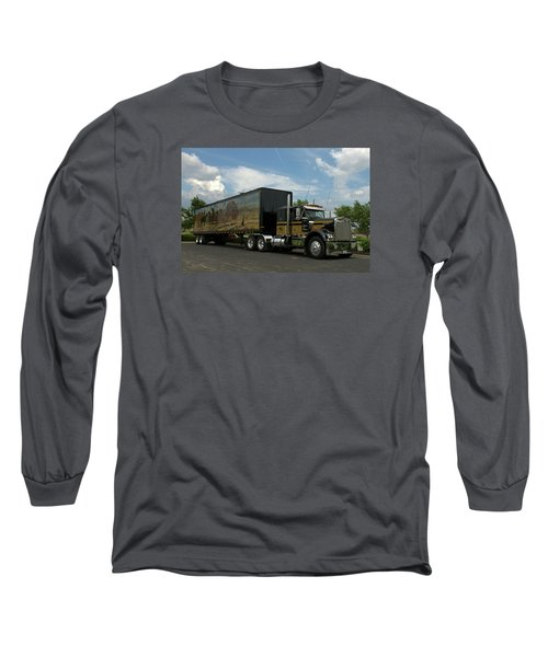 Smokey And The Bandit Tribute Vehicles Long Sleeve T-Shirt by Tim McCullough