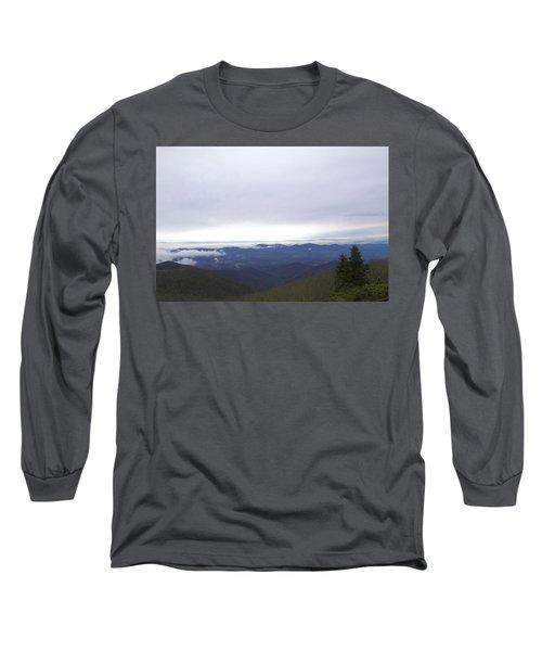 Smokey Mountains 2 Long Sleeve T-Shirt