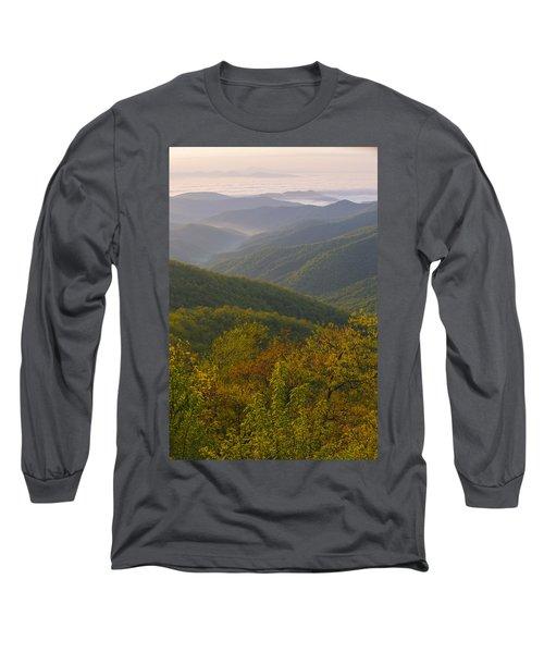 Smokey Mountains Long Sleeve T-Shirt