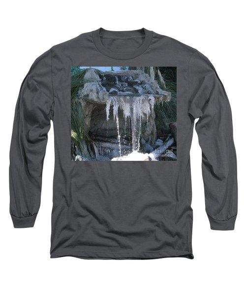 Smokey Stoves Frozen Falls Long Sleeve T-Shirt