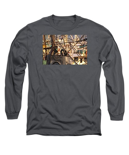 Long Sleeve T-Shirt featuring the photograph Smokin' by Cameron Wood