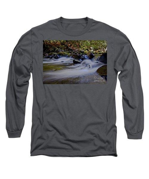 Long Sleeve T-Shirt featuring the photograph Smoky Mountain Stream by Douglas Stucky