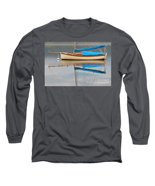 Long Sleeve T-Shirt featuring the photograph Smooth Sailing by Werner Padarin