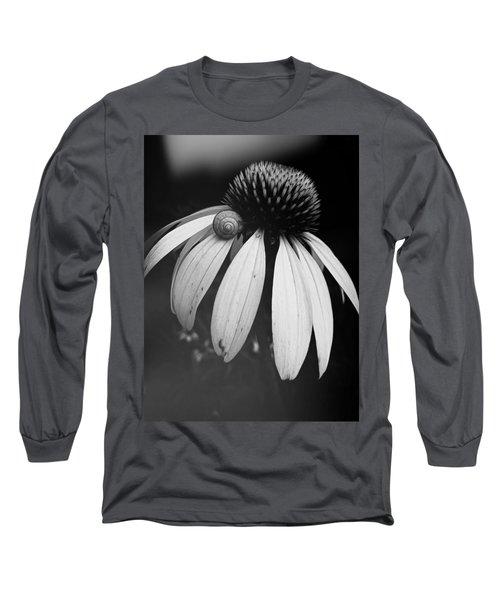 Snail Long Sleeve T-Shirt by Sharon Jones