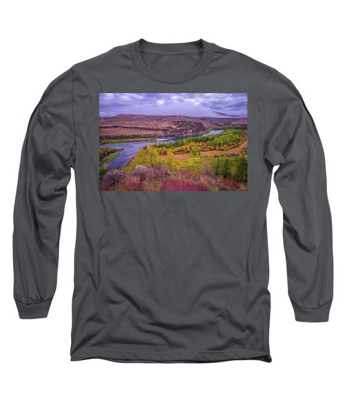 Snake River Fall Beauty  Long Sleeve T-Shirt