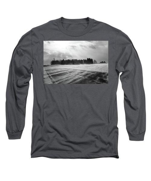 Long Sleeve T-Shirt featuring the photograph Snl-4 by Ellen Lentsch