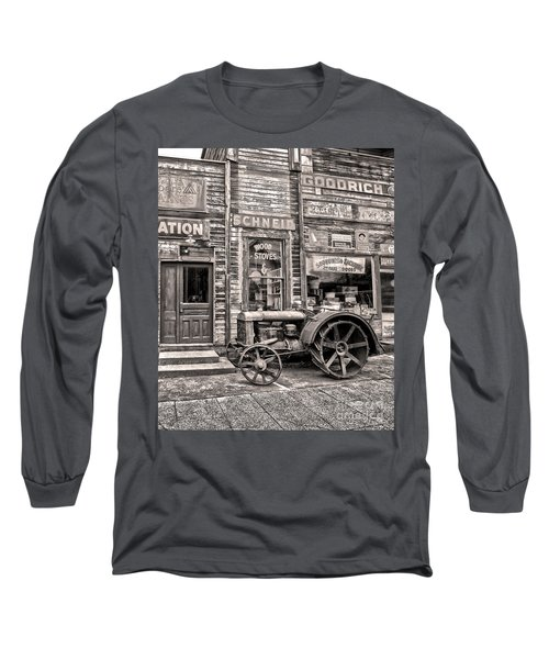 Snohomish Antiques Long Sleeve T-Shirt by Sonya Lang