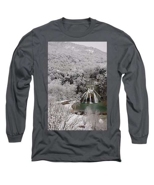 Snow And Turner Falls 2 Long Sleeve T-Shirt
