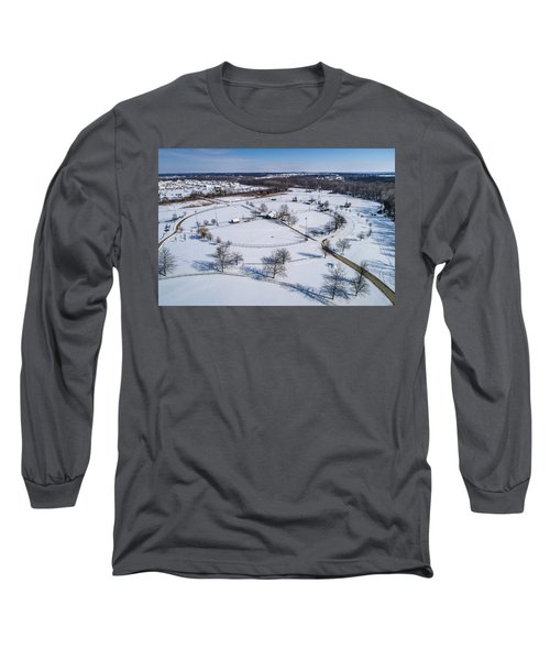 Snow Diamonds Long Sleeve T-Shirt