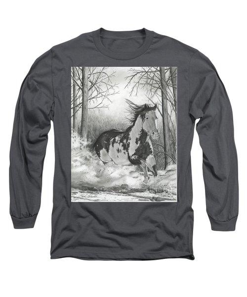 Snow Driftin' Long Sleeve T-Shirt
