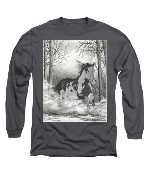 Snow Driftin' Long Sleeve T-Shirt