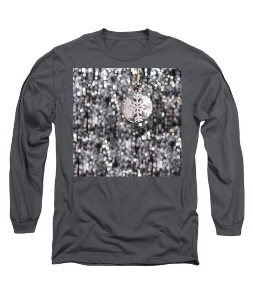 Long Sleeve T-Shirt featuring the photograph Snow Flake by Ulrich Schade